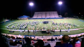 Walker Valley High School Marching Band October 20, 2012 at McEachern High School
