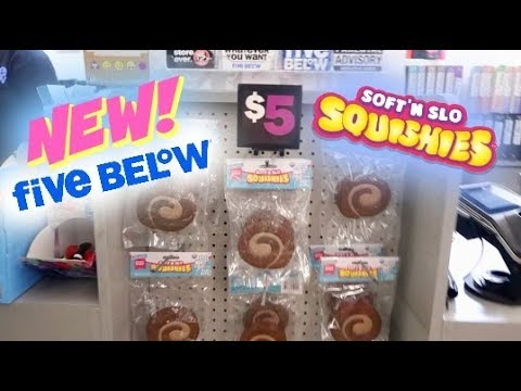 NEW SQUISHIES AND SLIME AT FIVE BELOW!!! VLOG - YouTube