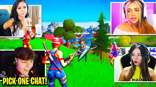 CLIX *INTERVIEWS* 3 NEW GIRLFRIENDS on Fortnite!
