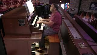 """J.S. BACH (organ): Aria & Var. 22 (from """"Goldberg Variations"""")"""