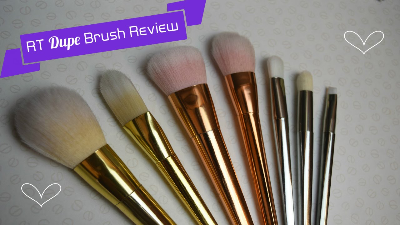 Rt brushes bold metals