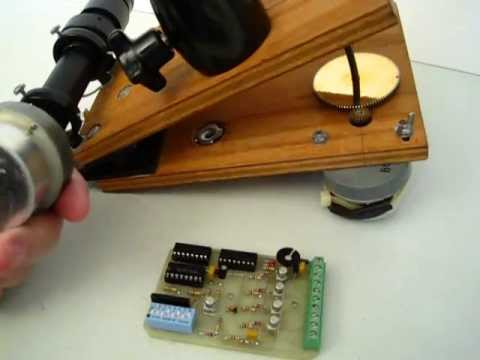 Barn Door Notes Astrokits Stepper Driver Board And Motor Youtube