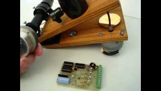 Barn Door Notes - AstroKits Stepper Driver Board and Motor