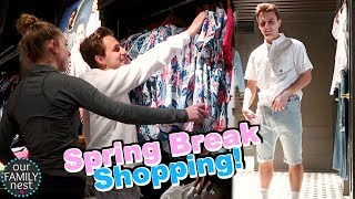 THE LAST OF THE SPRING BREAK SHOPPING!