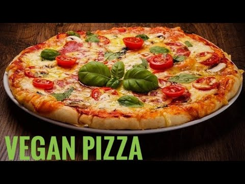 How To Make Vegan Pizza, Healthy Pizza Recipe At Home, by katiye