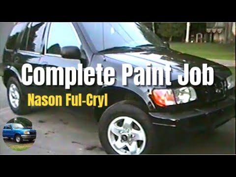 Complete Automotive Paint Job Nason Ful Cryl Ii Or Ful