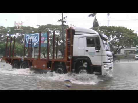 Fijian town of Nadi flood update as @ 1.00pm Monday April 04th, 2016