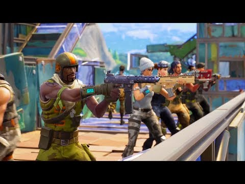 WE'RE GOING TO WAR! | Fortnite Battle Royale
