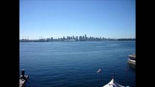 taking the seabus from Vancouver to Lonsdale Quay, Sept 2013