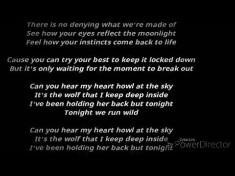 Hardwell feat. jake reese - run wild(LYRICS )