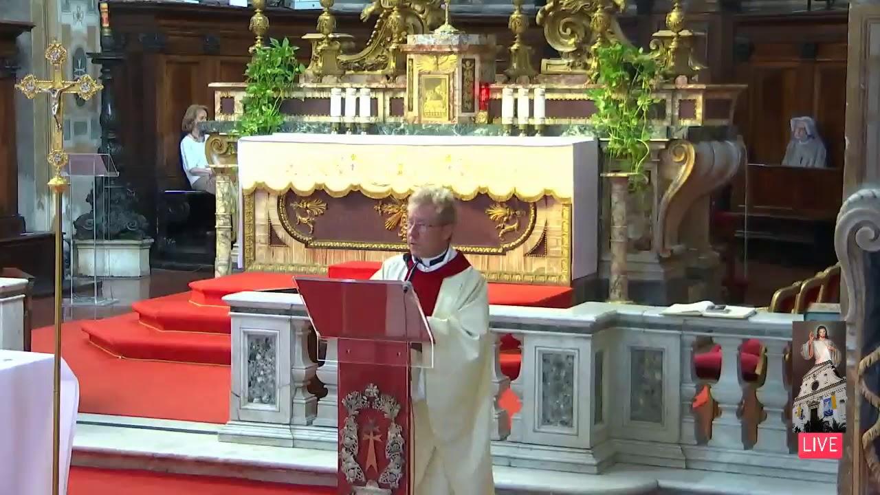 5 Luglio 22020 Messa alla Divina Misericordia ore 1700 OMELIA
