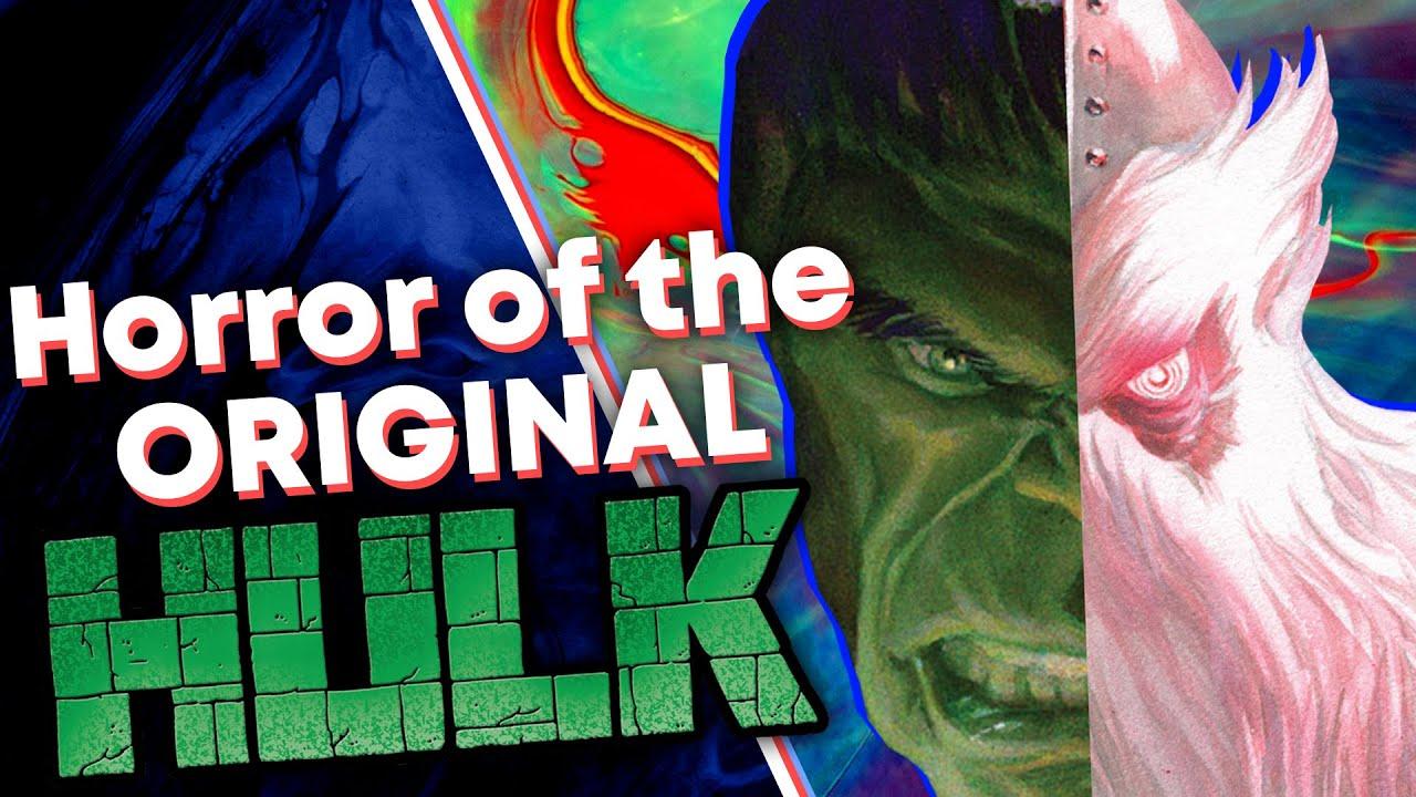 The Terror of Marvel's ORIGINAL Hulk [One Horrifying Moment]