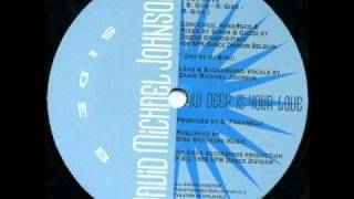 David Michael Johnson - How Deep Is Your Love (Europa Mix) 1993.wmv
