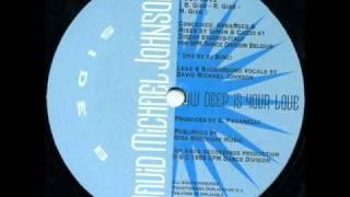 David Michael Johnson - How Deep Is Your Love (Europa Mix) 1993.wmv