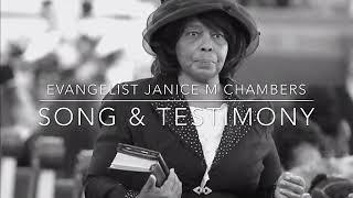 Evangelist J.M Chambers Song & Testimony