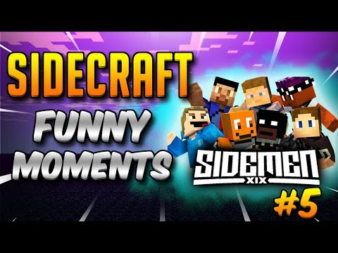 SIDECRAFT Funny Moments Compilation #5 (SIDEMEN Minecraft)