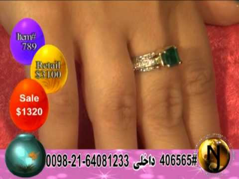 Naab Jewelry TV Show Episode-202, jewelry show, iran, naab tv