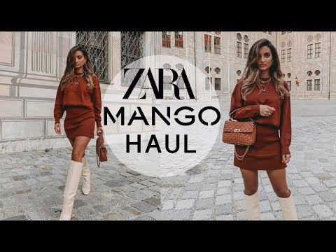 ZARA & MANGO AUTUMN HAUL 🍂September 2019