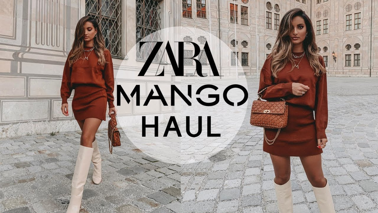 [VIDEO] - ZARA & MANGO AUTUMN HAUL 🍂September 2019 2