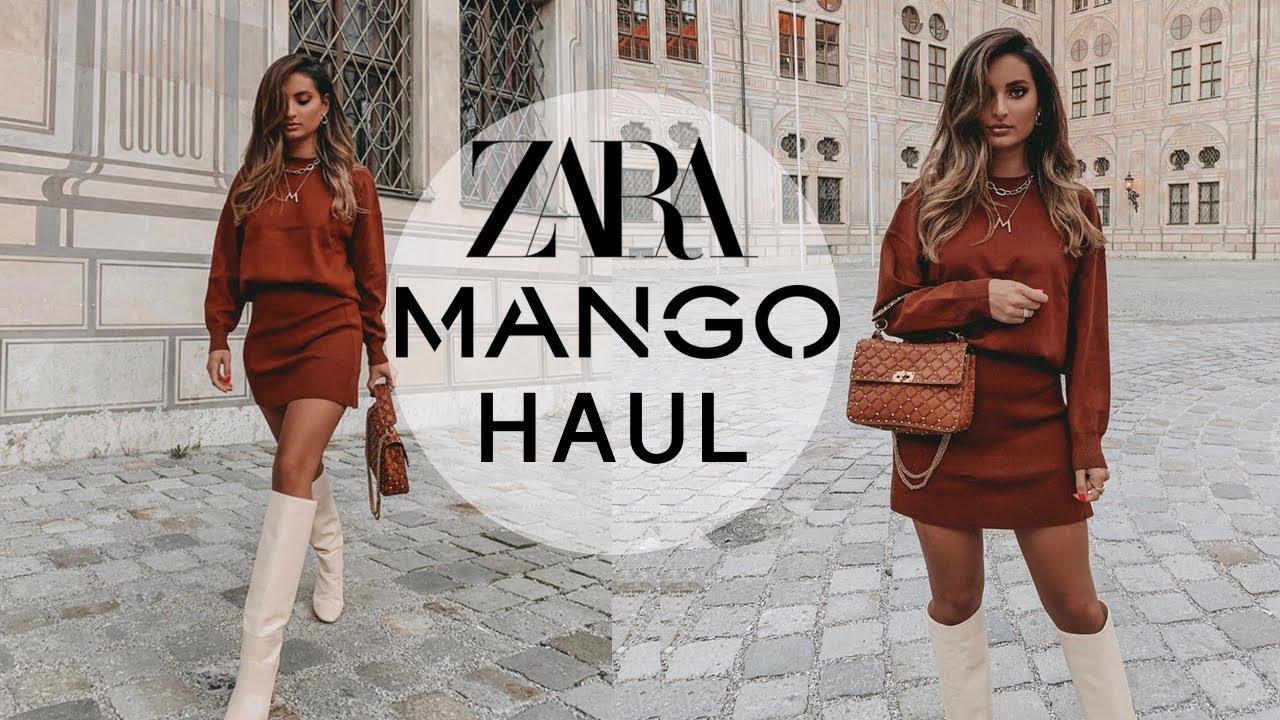 [VIDEO] - ZARA & MANGO AUTUMN HAUL 🍂September 2019 1