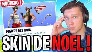 🔴[LIVE FORTNITE] LES SKINS DE NOEL SONT DE RETOUR DANS LA BOUTIQUE ! MAÎTRE DES BOIS, SUCRE D'ORGE