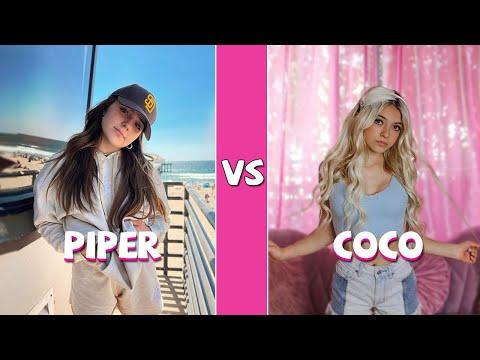 Piper Rockelle Vs Coco Quinn TikTok Dance Battle