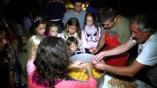 Tortilla 240 huevos Camping Mariola 23 agosto 2014
