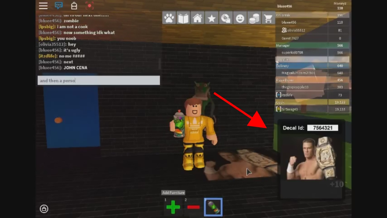 Spray Can Id For Roblox Youtube