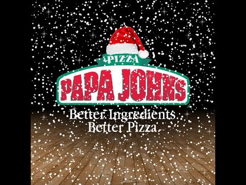 Papa John's Christmas Pizza is OFFENSIVE!!! - YouTube