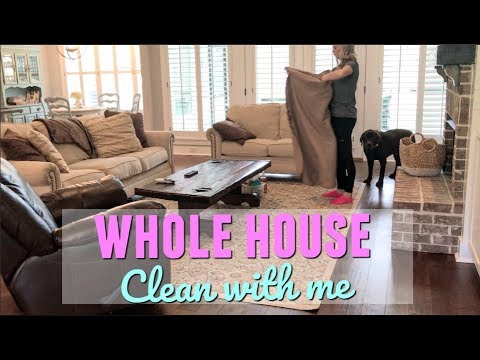 WHOLE HOUSE CLEAN WITH ME | MAJOR CLEANING MOTIVATION | SPEED CLEAN