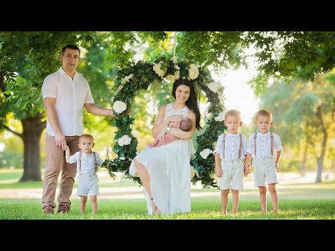 Family Portraits photography behind the scenes, family of 6 portrait session Vlog 025