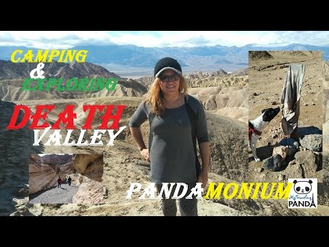 Camping & Exploring Death Valley