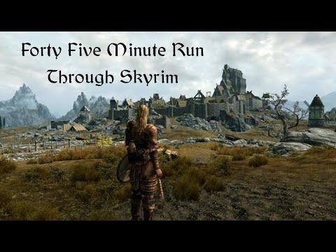 Skyrim 45 minute run v0x2 compressed