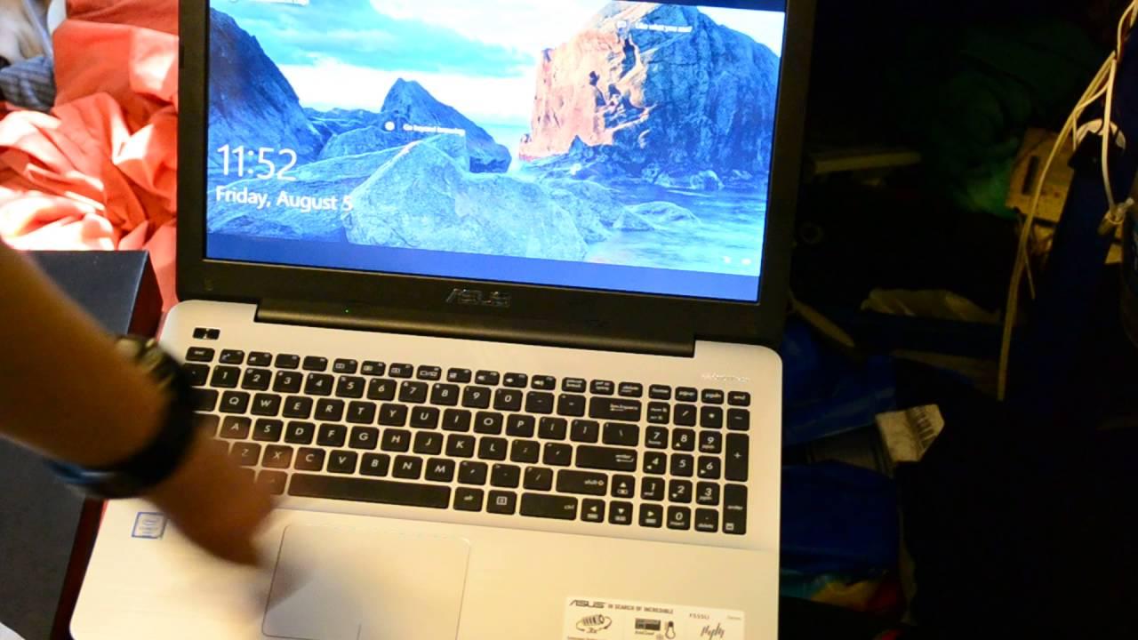 Asus F555UA Windows 7 64-BIT