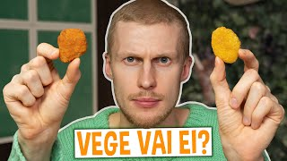 Tunnistanko vegeversion lihaversiosta? (TESTI)