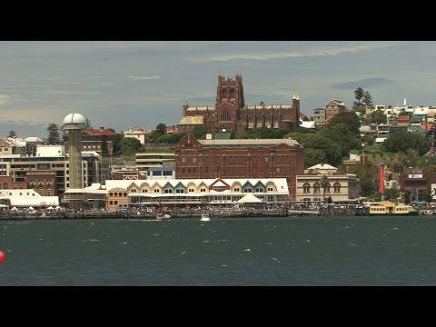 Australia Day 2013 Newcastle Harbour NSW - Aerobatics, Catalina Flying Boat, Ski Boat Races