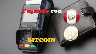 Pagando con BITCOIN en Cusco - Perú