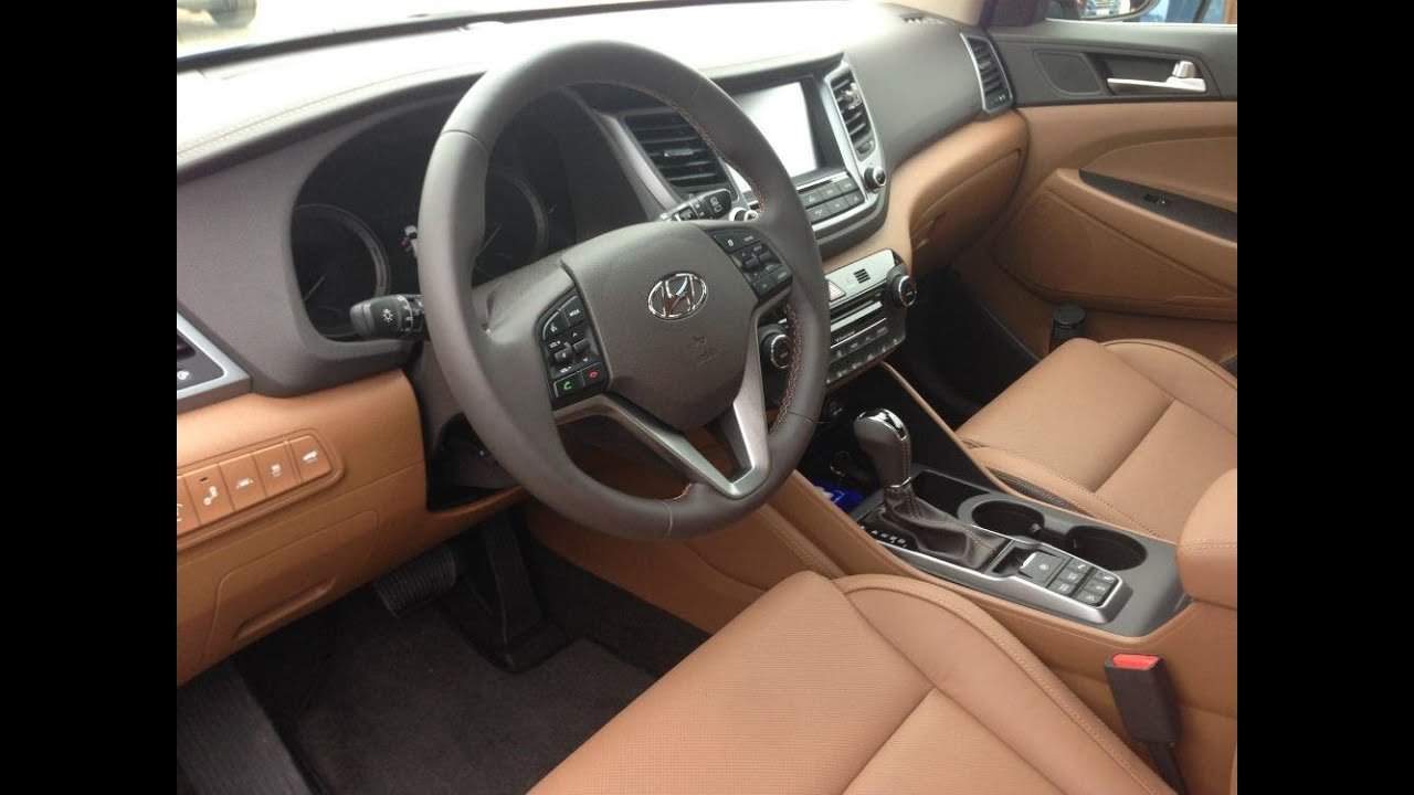 Hyundai Tucson 2016 2017 Interior   YouTube