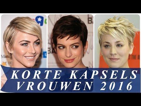 Korte Kapsels Vrouwen 2016