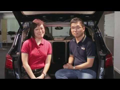 ISOFIX Child Seat Installation Demo Feat. May Hwong, CPS Malaysia