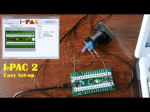 Ultimarc I-PAC 2 Keyboard Encoder Set-up Easy, for Arcade Machine MAME Game  Controller