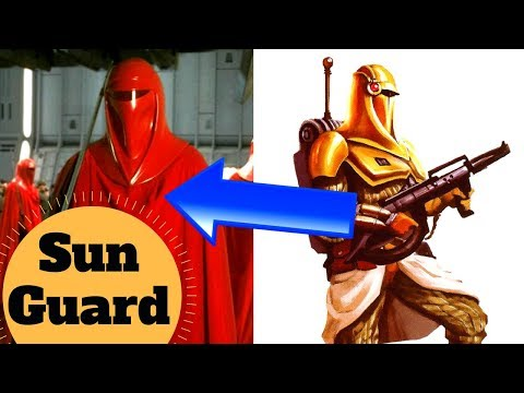 Mercenary Sith Cult to Royal Guards - Sun Guard Lore - Star Wars Legends Explained