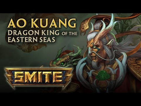 SMITE - God Reveal - Ao Kuang, Dragon King of the Eastern Seas
