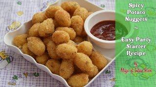 Spicy Potato Nuggets | Easy Party Starter Recipe | Magic of Indian Rasoi