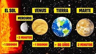 ¿Cuánto Tiempo Podrías Vivir En Cada Planeta? | Respondiendo 7 Preguntas Curiosas