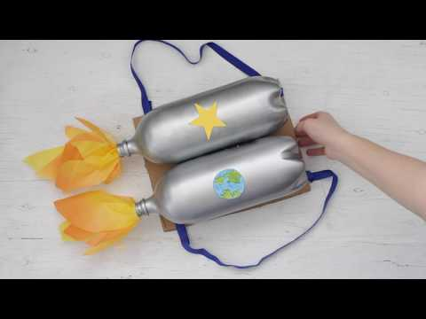 VBS DIY: Soda Bottle Rocket Backpack