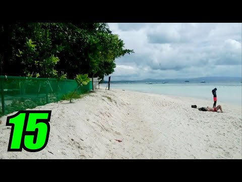 Dumaluan Beach Resort Moto GoKart RACE TRACK Bohol Philippines