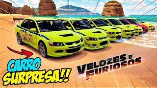 NA PRIMEIRA VEZ HUMILHOU!! - CARRO SURPRESA VELOZES E FURIOSOS - FORZA HORIZON 3