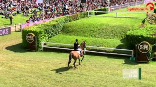 Deutsches Spring- und Dressur Derby 2015 - Janne Meyer mit Cellagon Anna