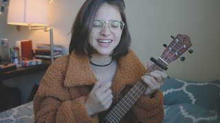 Baixar let's fall in love for the night - FINNEAS | ariel ukulele cover